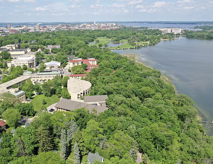 Arial Photo of Edgewood College