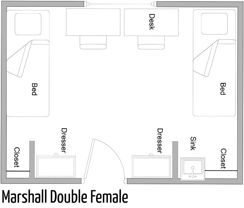 Marshall Double Female